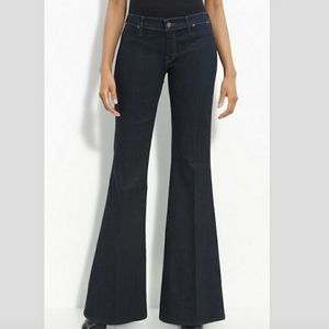Mother Jeans Flare Size 26 The Curfew